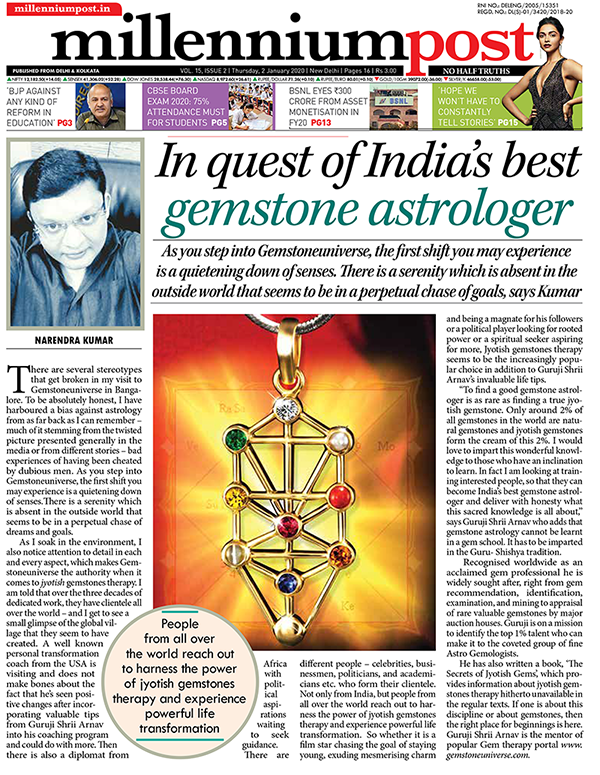 In quest of Best Gemstone Astrologer in India