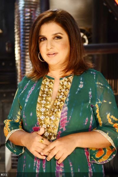 Director Choreographer Farah Khan with her Yellow Sapphire - The Color of Fame