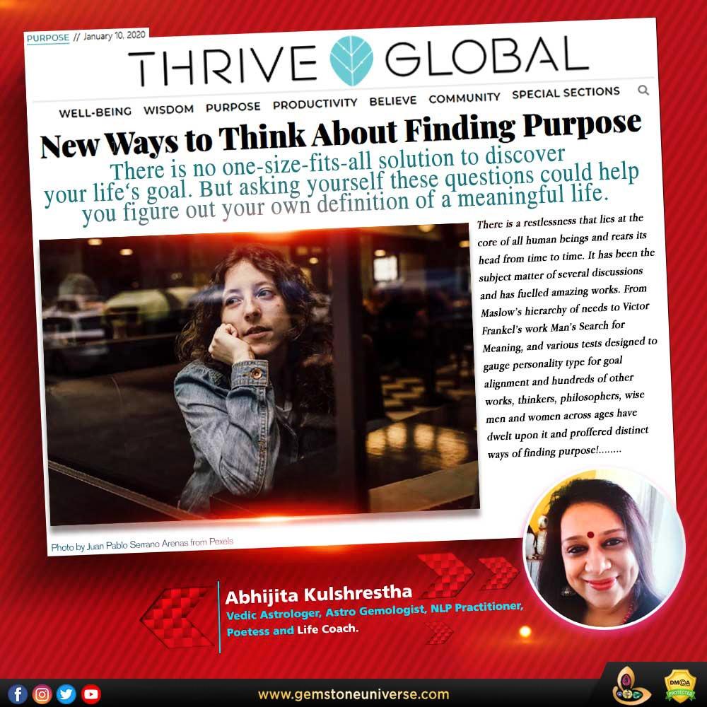 Find Life Purpose - Abhijita Kulshrestha