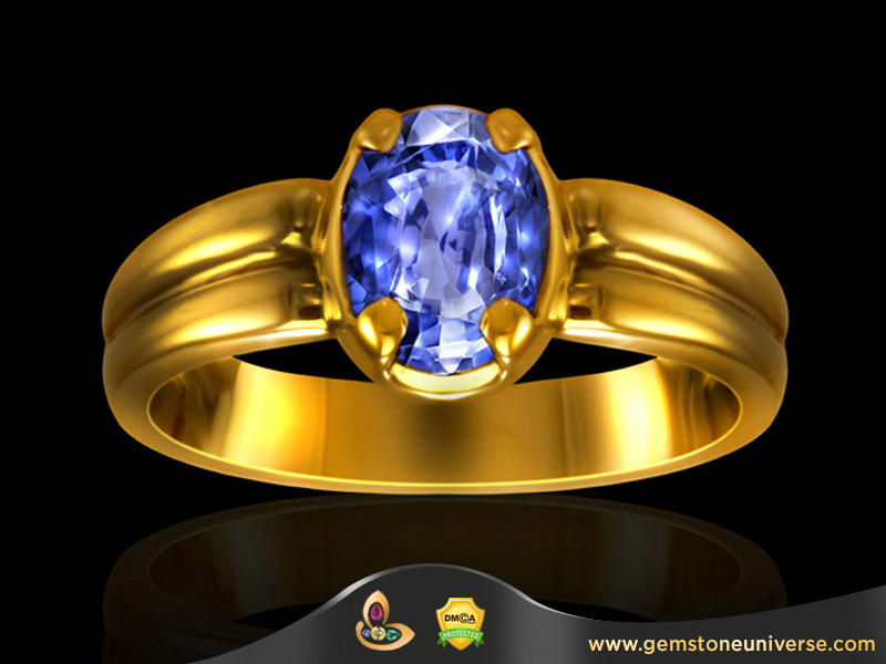 Gemstones of the rich and famous, The Rockfeller Sapphire