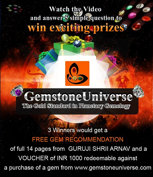 The Gemstoneuniverse | Facebook Contest | Free Gemstone contest