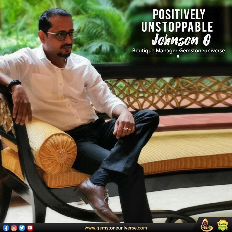 Gemstoneuniverse Celebrating Unsung Heroes -Johnson O.