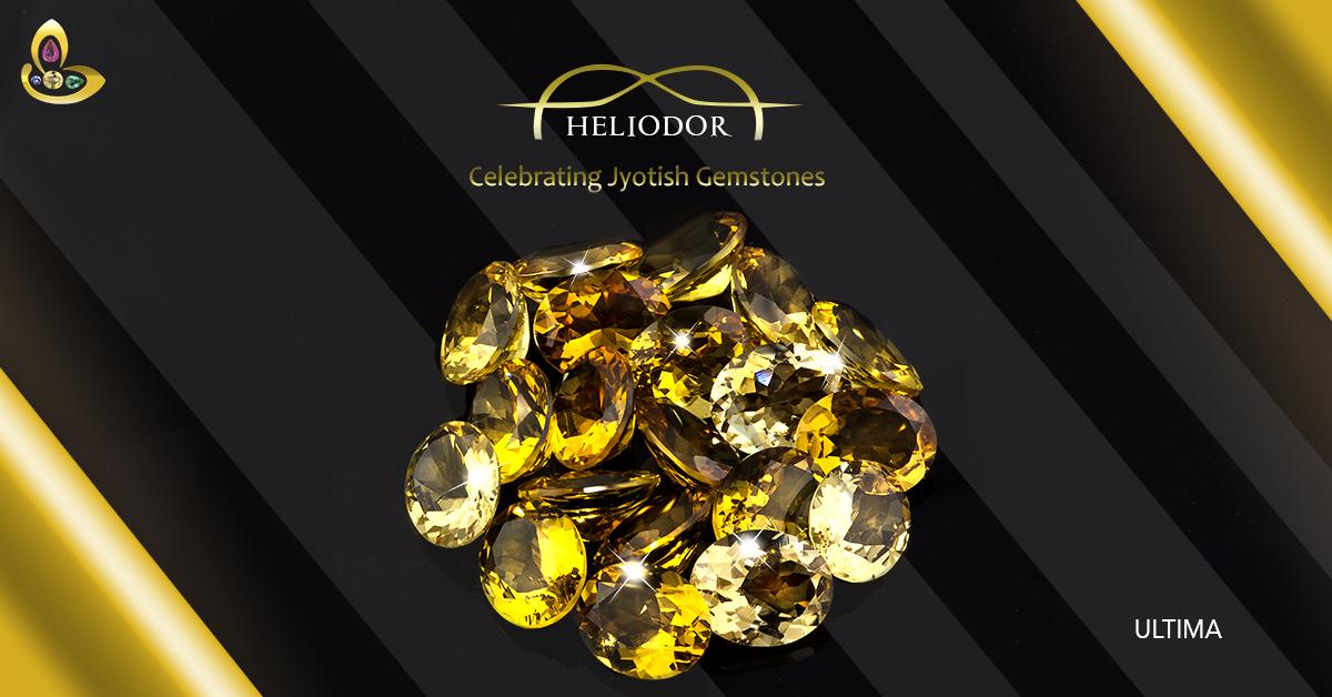 Best Quality Heliodor Yellow Beryl Gemstone for Sale