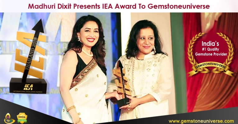 Gemstoneuniverse Wins India's Best Quality Gemstone Provider-IEA Award