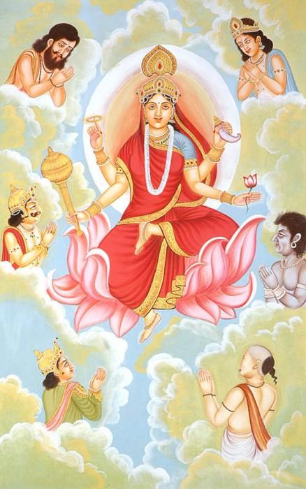 Navratna Stone  IX | Navaratna Gemstone Cats Eye and Mother Siddhidatri