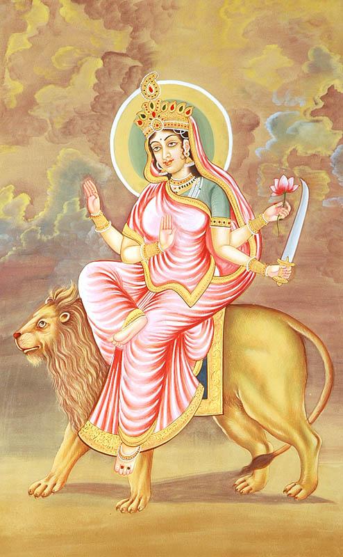 Navratna Stone VI | Navaratna Gemstone Emerald and Mother Katyayini