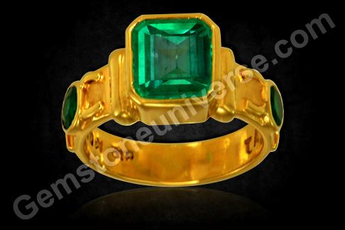 Gemstone Emerald Cut