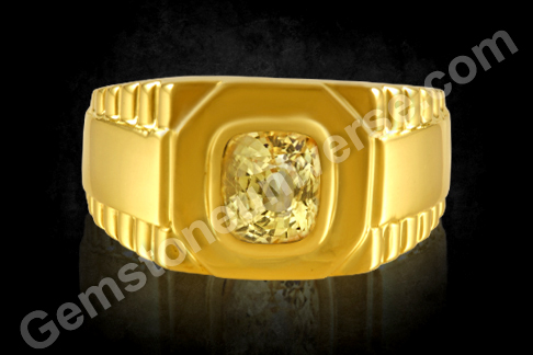 Yellow Sapphire Ring | Astrology Rings Yellow Sapphire Benefits