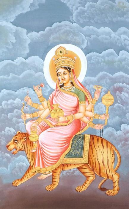 Navratna Stone IV | Navaratna Gemstone Diamond and Shakti Kushmanda