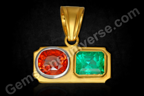 Planetary gem Therapy | Wearing Jyotish Gemstones | Can emerald and hessonite be worn together