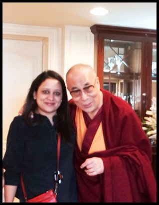 Sharing the light of Love and Knowledge in the New Year with Prayers and Blessings of His Holiness –The Dalai lama