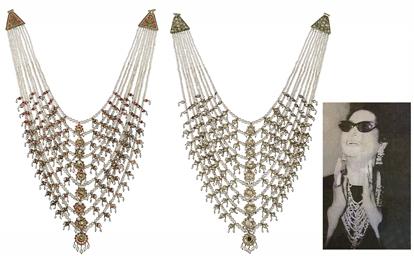 Nizam Natural Pearl Jewelry | Nizam Jewelry | Nizam pearl Satlada necklace