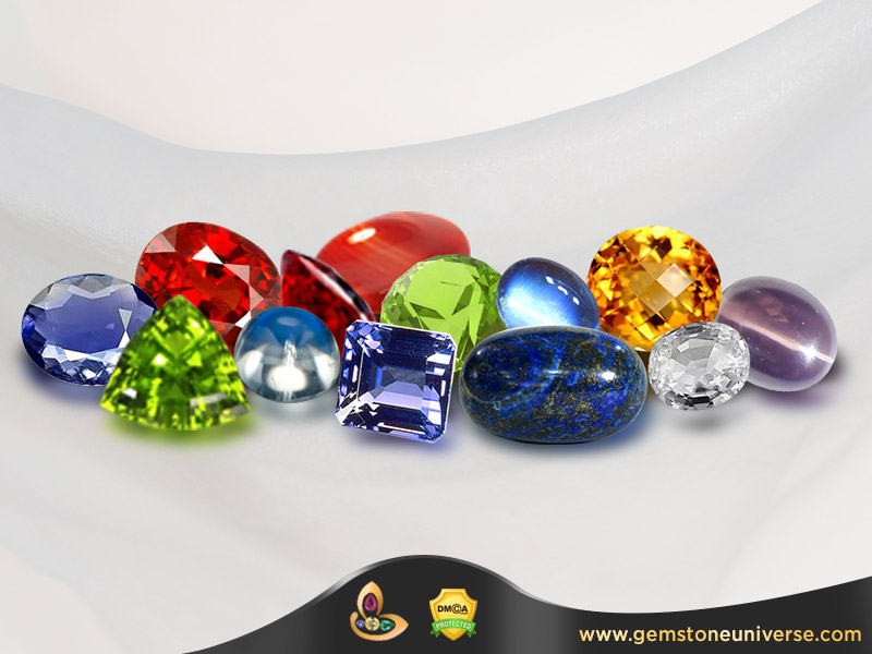 Semi Precious Gemstones List & Healing with Semi Precious Gemstones