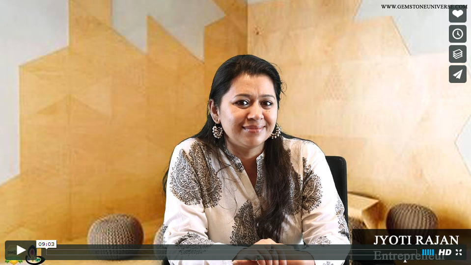 Jyoti Rajan is an Entrepreneur and an interior designer of repute