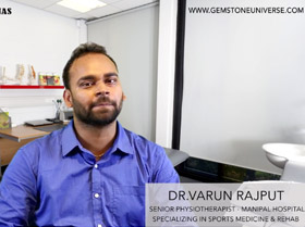 Dr. Varun Rajput - Senior Physiotherapist at Manipal Hospital Bangalore