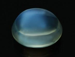 Blue Moonstone displaying Adularescence
