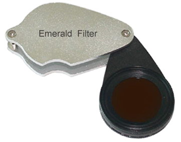 Hanneman-Hodgekinson Synthetic Emerald Filter