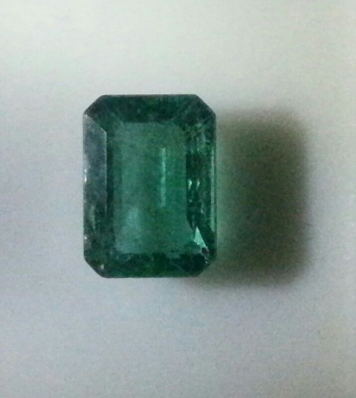 Zambian Emerald as observed by Naked eye