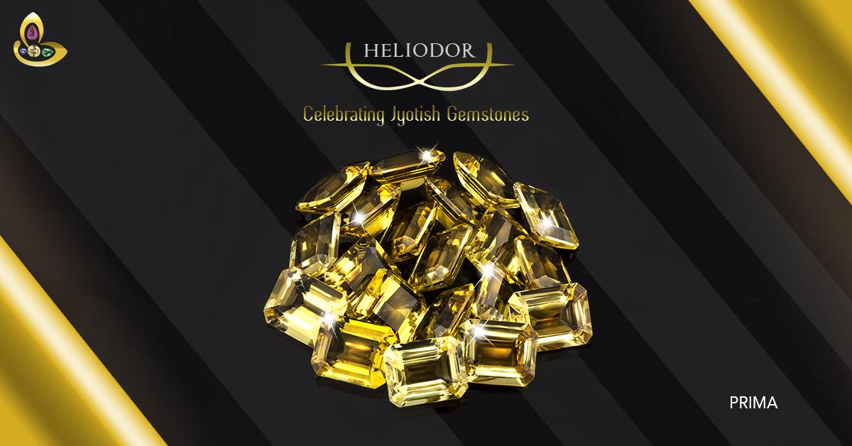 Octagonal Heliodor