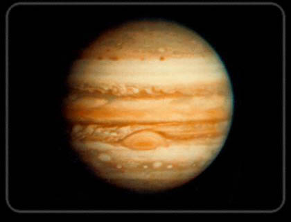 Jupiter is the heaviest planet in the Solar System. It radiates more energy than it receives