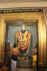 Lord Saturn At the Shree Shaneeswar Swamy Sannidhi RajajiNagar Bangalore