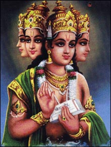 Lord Brahma-The Creator in the holy trinity