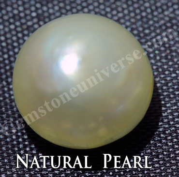 Natural Pearl The Gemstone of Moon Can balance the Swadishtana Chakra