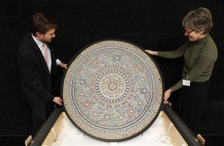 Bejewelled Indian canopy to be auctioned New York