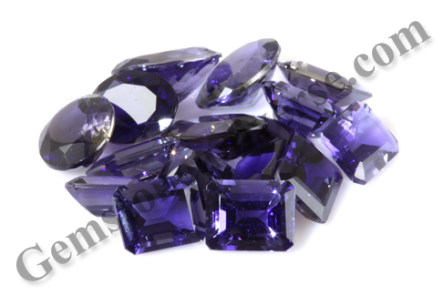 Pristine Premium with Top Color Iolites from Lot Devi