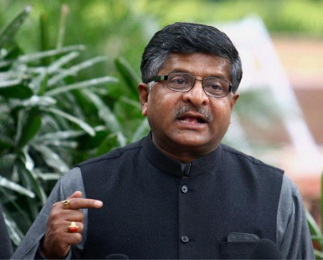 Ravi Shankar Prasad Communications and Information Technology