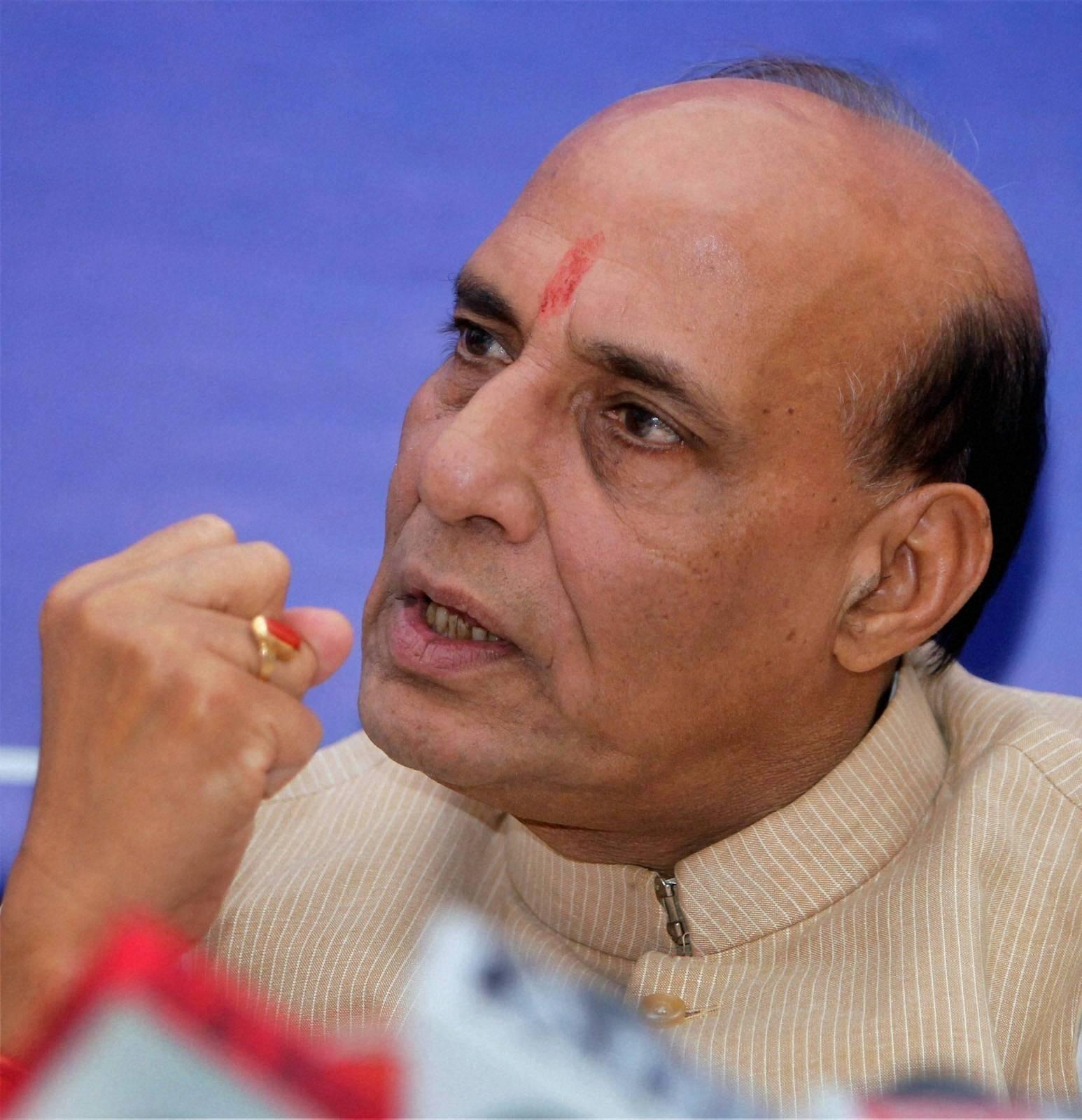 Shri Raj Nath Singh  Home Minister