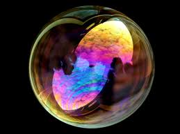 Iridescence in a Soap Bubble