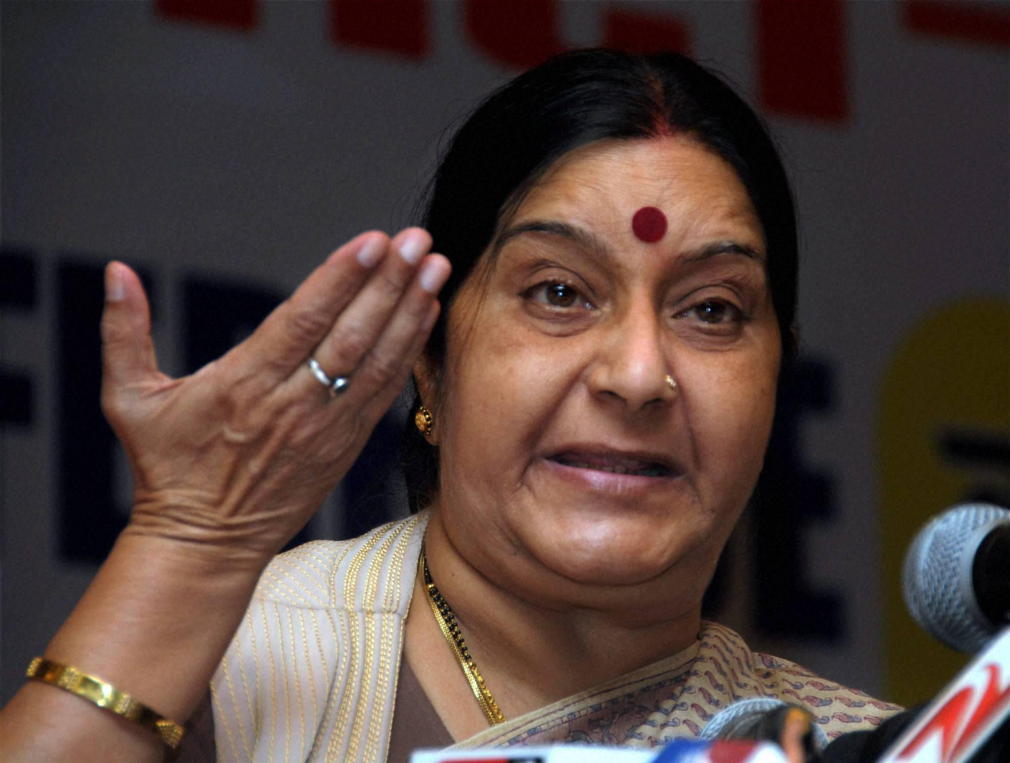 Sushma Swaraj external Affairs Minister