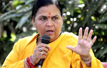 Uma Bharti Minister Water Resources