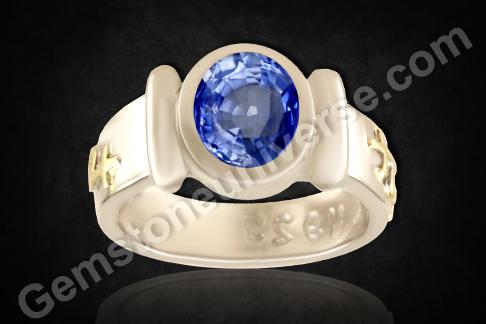 Unheated Blue Sapphire from Ratnapura Srilanka