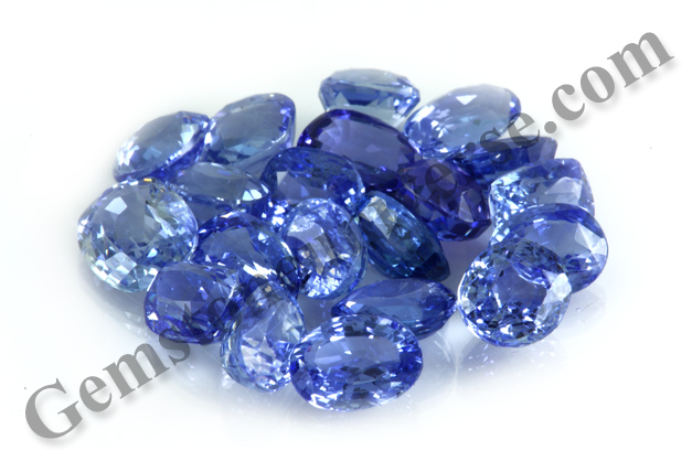 Natural Unheated Blue Sapphires from the new lot Namah