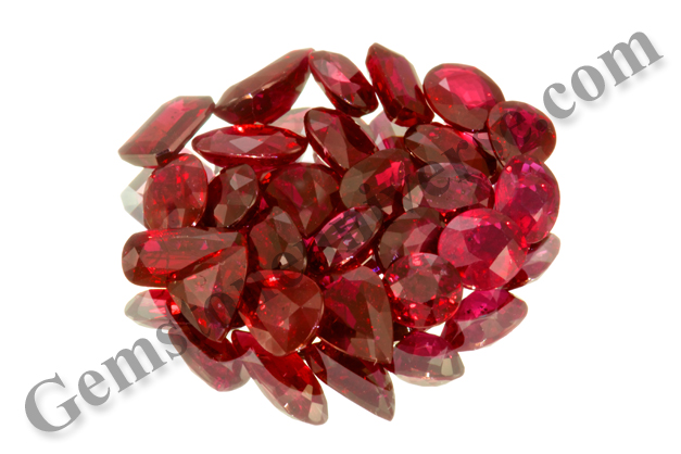 Unheated Rubies from Mozambique Lot Prana