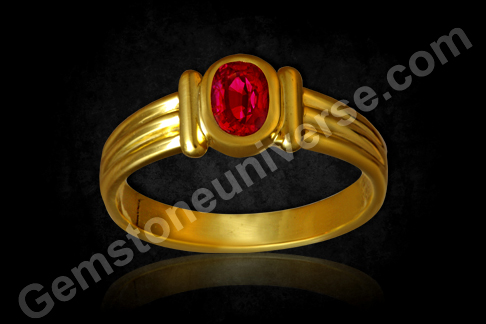 Natural Mozambique Ruby Ring